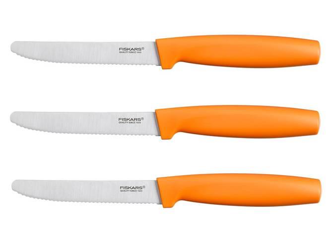 FISKARS Set 3 jídelních nožů Fiskars Functional Form 1014278