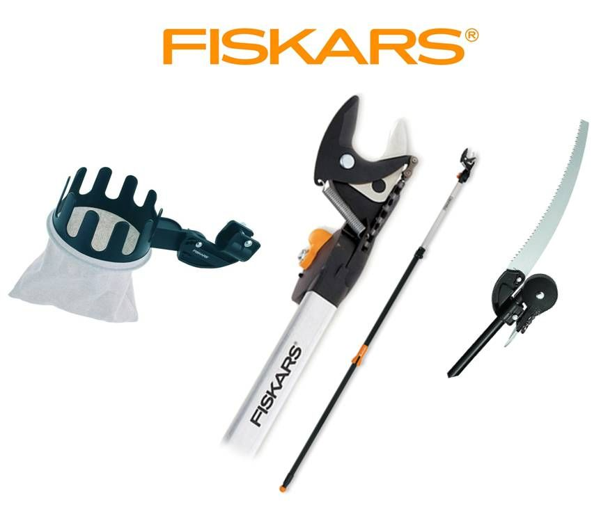 fiskars n ky zahradn housenice 6 5 m s pilkou a es kem. Black Bedroom Furniture Sets. Home Design Ideas
