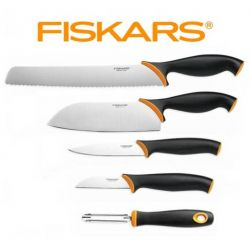 Set nožů a škrabky Fiskars Functional Form 5 ks