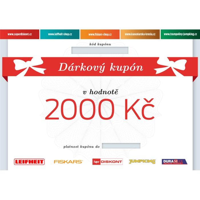 Superdiskont, s.r.o. Dárkový kupón 2000 Kč