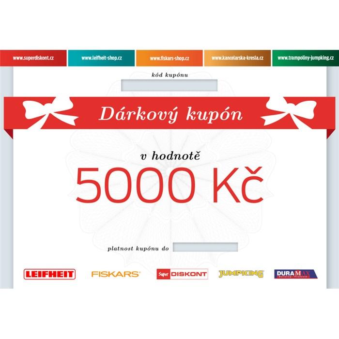 Superdiskont, s.r.o. Dárkový kupón 5000 Kč