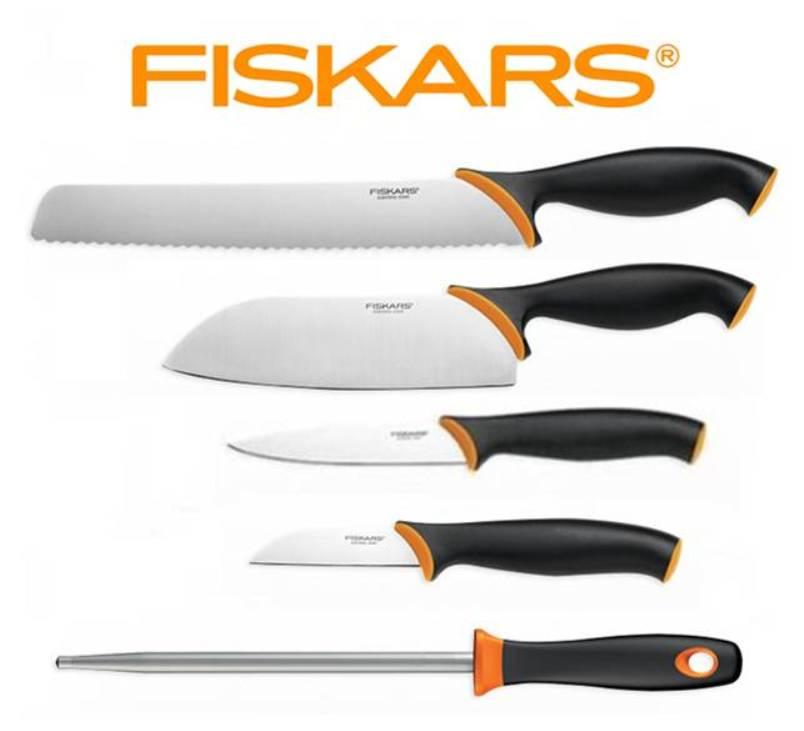FISKARS Set nožů s ocílkou Fiskars Functional Form