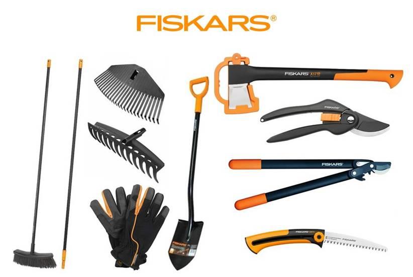 FISKARS Start SET Fiskars - 10 ks zahradního nářadí